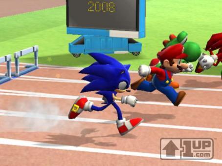 Sonic contra Mario? Sim! Será poss�vel no Wii!