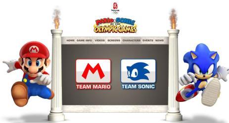 Mario e Sonic juntos na Olimp�ada de 2008