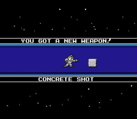 Concrete Shot, uma arma de muita utilidade!