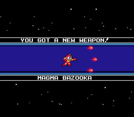 Magma Bazooka, uma arma de fogo...