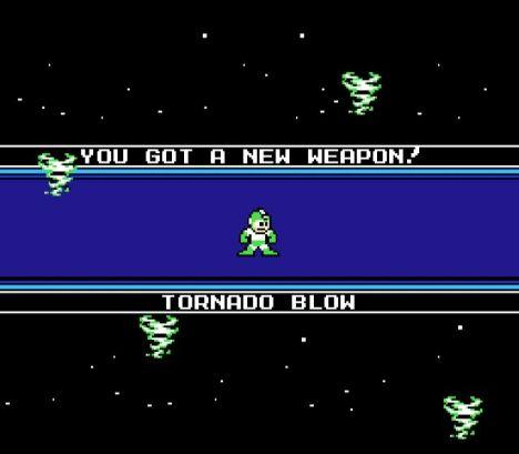 Tornado Blow, quase igual a arma do Air Man