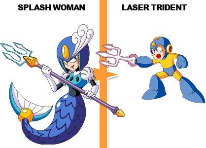 Laser Trident