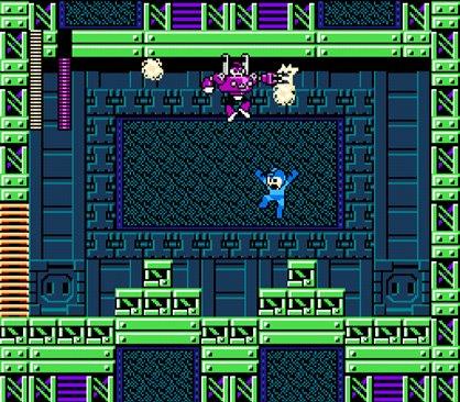 Mega Man vs. Homem Tomada ou Plug Man