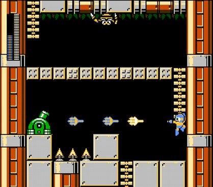 Laset Trident em ação no Mega Man
