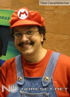 Mario foi o vencedor do concurso de cosplay do VGL