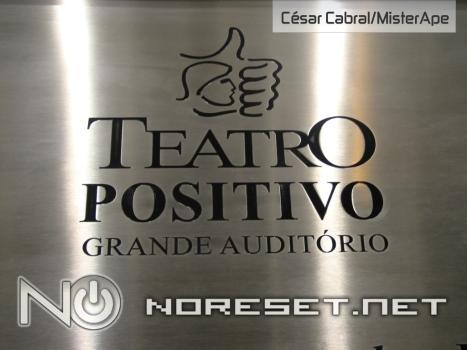 O maior teatro paranaense recebeu o VGL