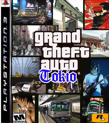 GTA em Tóquio? Por que não?