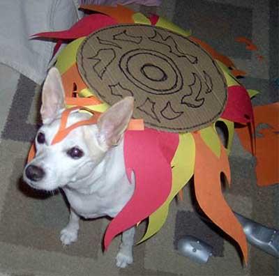 Amaterasu - Okami (o dono deve ser de um trato com o seu cão)
