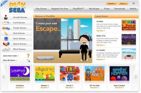 Diversão garantida com os jogos do site PlaySega