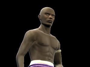 Gunga Za é o outro protagonista de Capoeira Legends