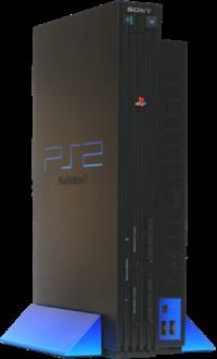 Primeira versão do PlayStation 2, em 2000
