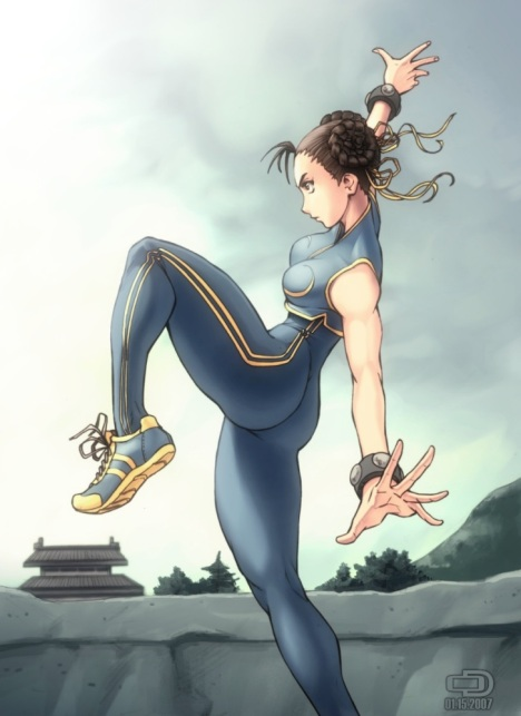 Chun_Li_SF_Card_by_Omar_Dogan