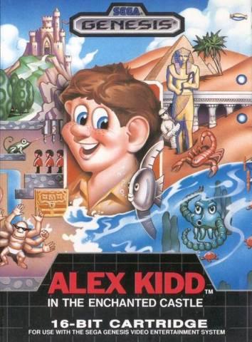 A Sega cansou do Alex Kidd e resolveu mudar...