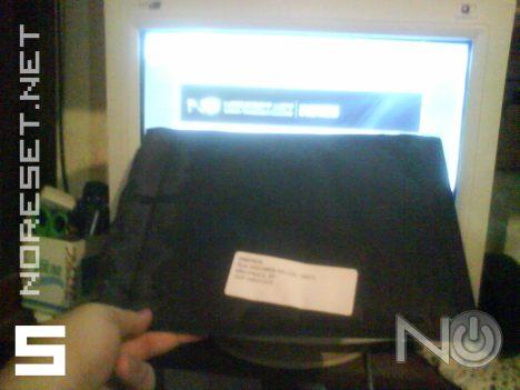 E o tal envelope preto na minha mão!