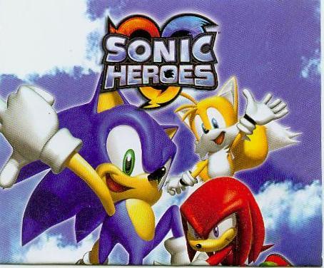Sonic Heroes foi o primeiro game da Sega que foi lançado para três consoles diferentes: Xbox, Game Cube e PlayStation 2