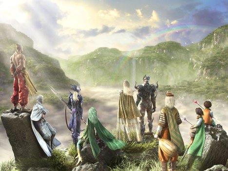 CG de FFIV, na versão do DS
