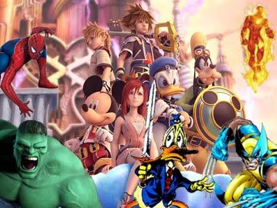Kingdom Hearts: a presença da Marvel está confirmada na próxima versão do game!