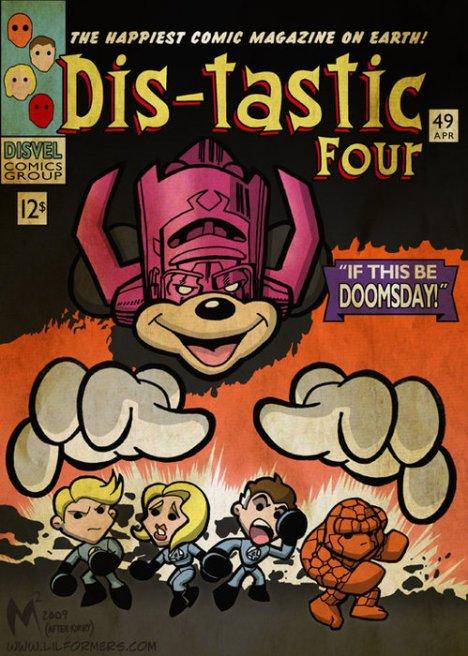 Dis-tastic Four